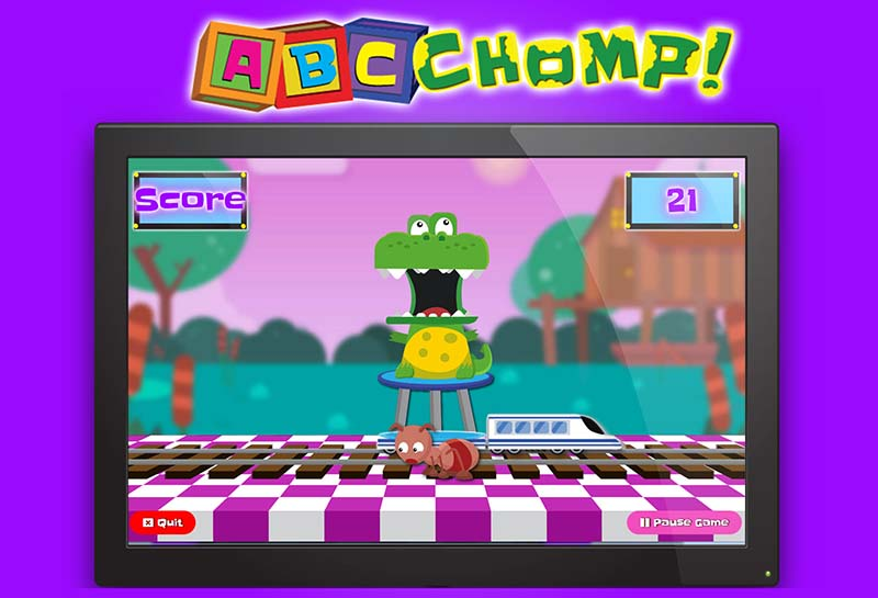ABC Chomp Game Demo